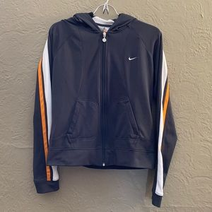 Nike Zip Up Sports Jacket With Hood- Size M
